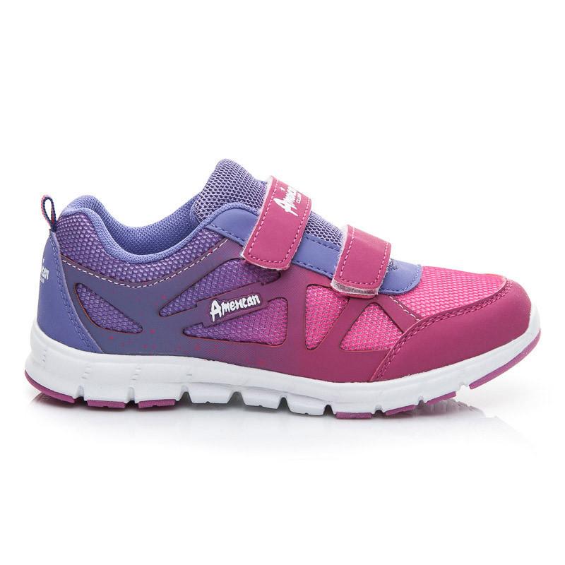 Pohodlné fialové dětské sportovní boty