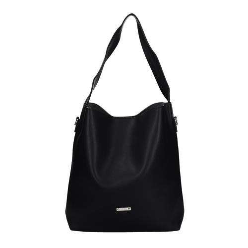 Praktická černá dámská taška přes rameno
