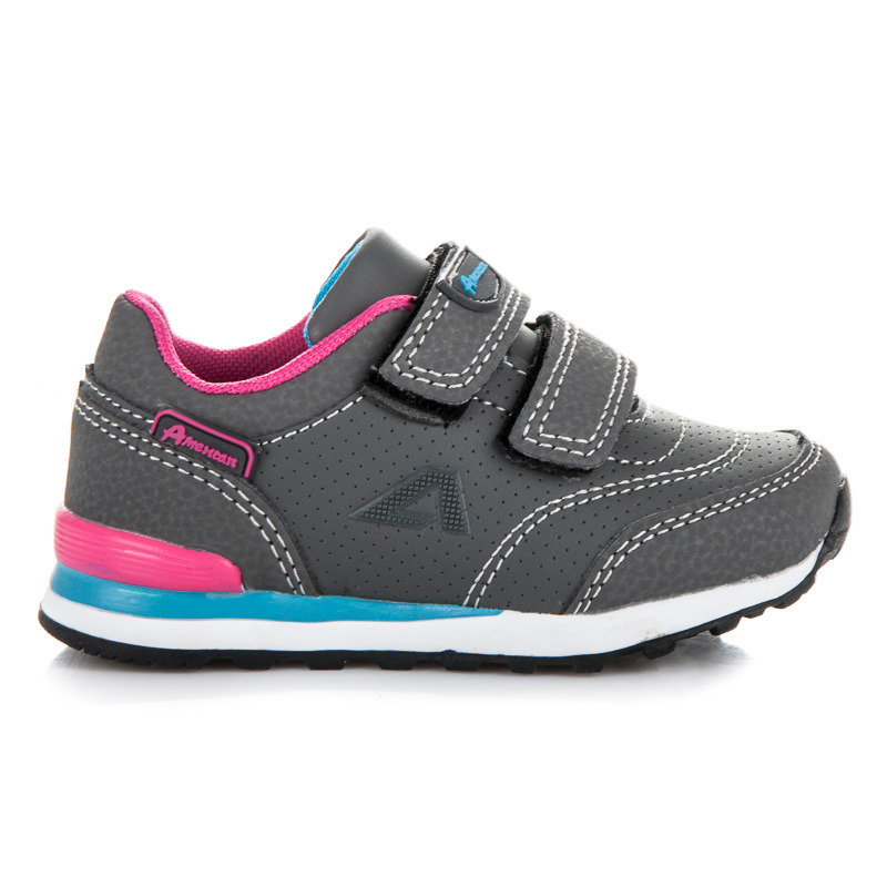 Stylové dětské sportovní botasky na suchý zip