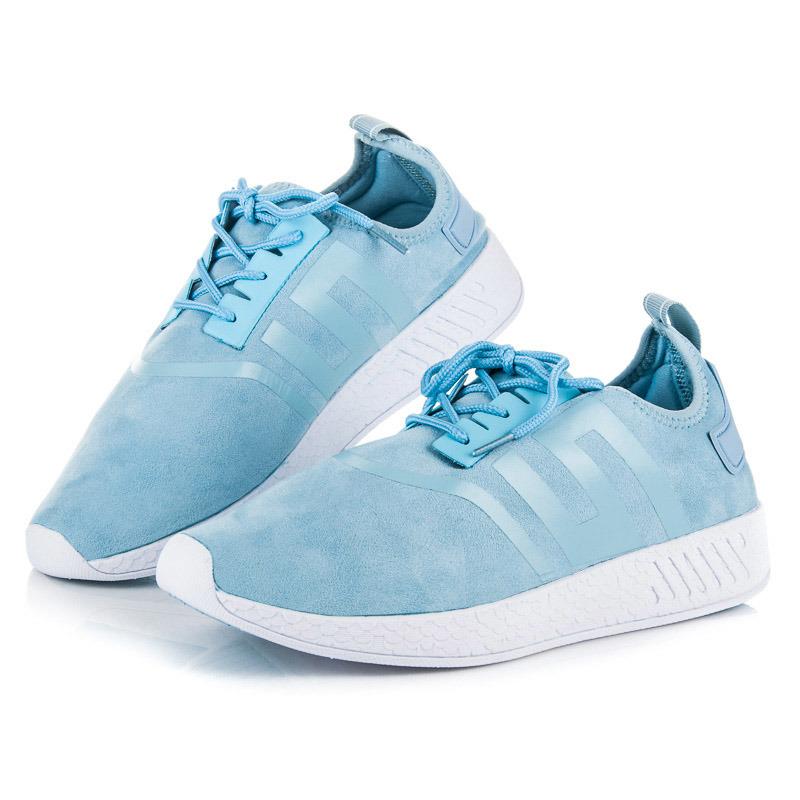 Stylové modré dámské sportovní tenisky