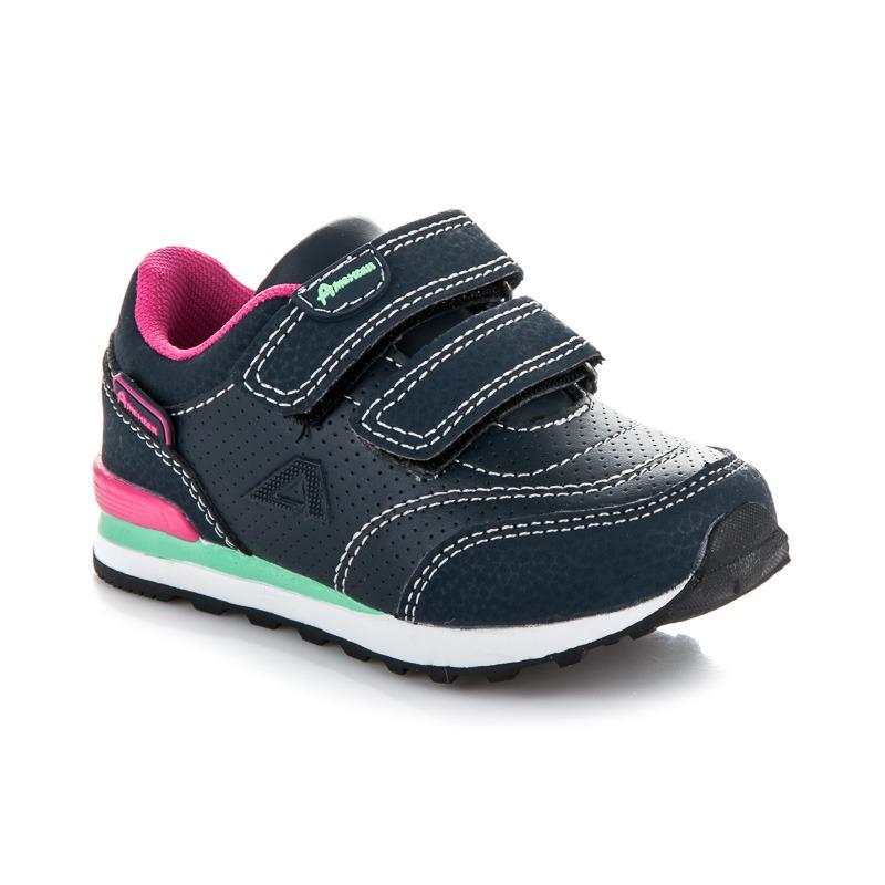 Stylové modré dětské sportovní botasky