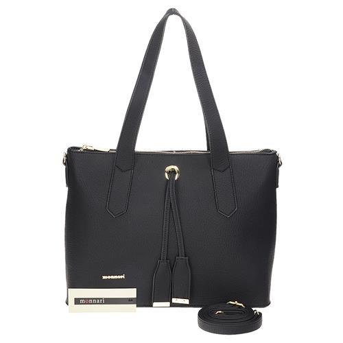 Velká černá dámská kabelka přes rameno