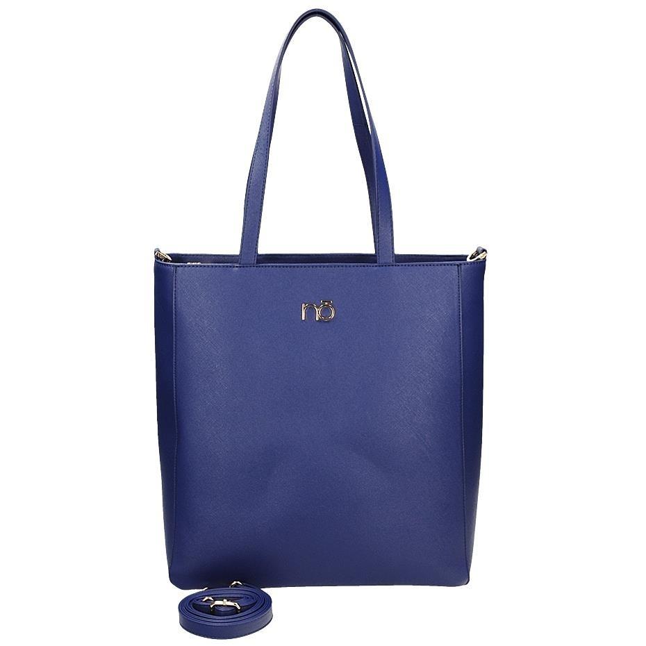 Velká modrá kabelka na rameno