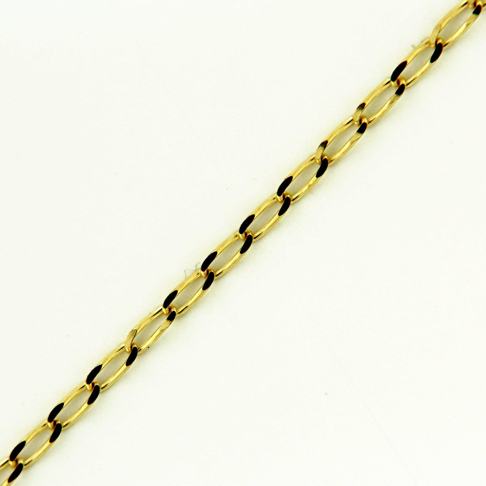 Zlatý řetízek 17278