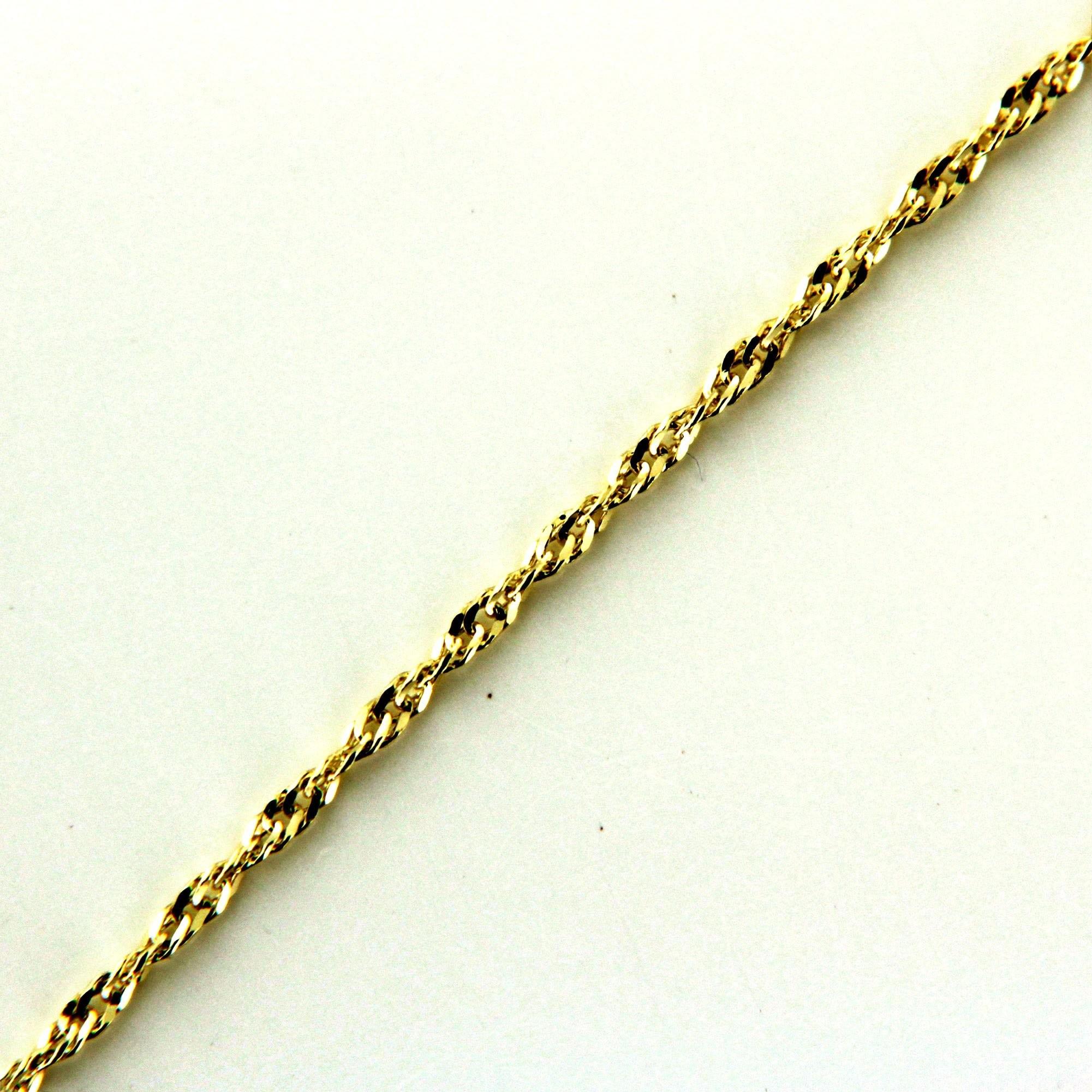 Zlatý řetízek 17288