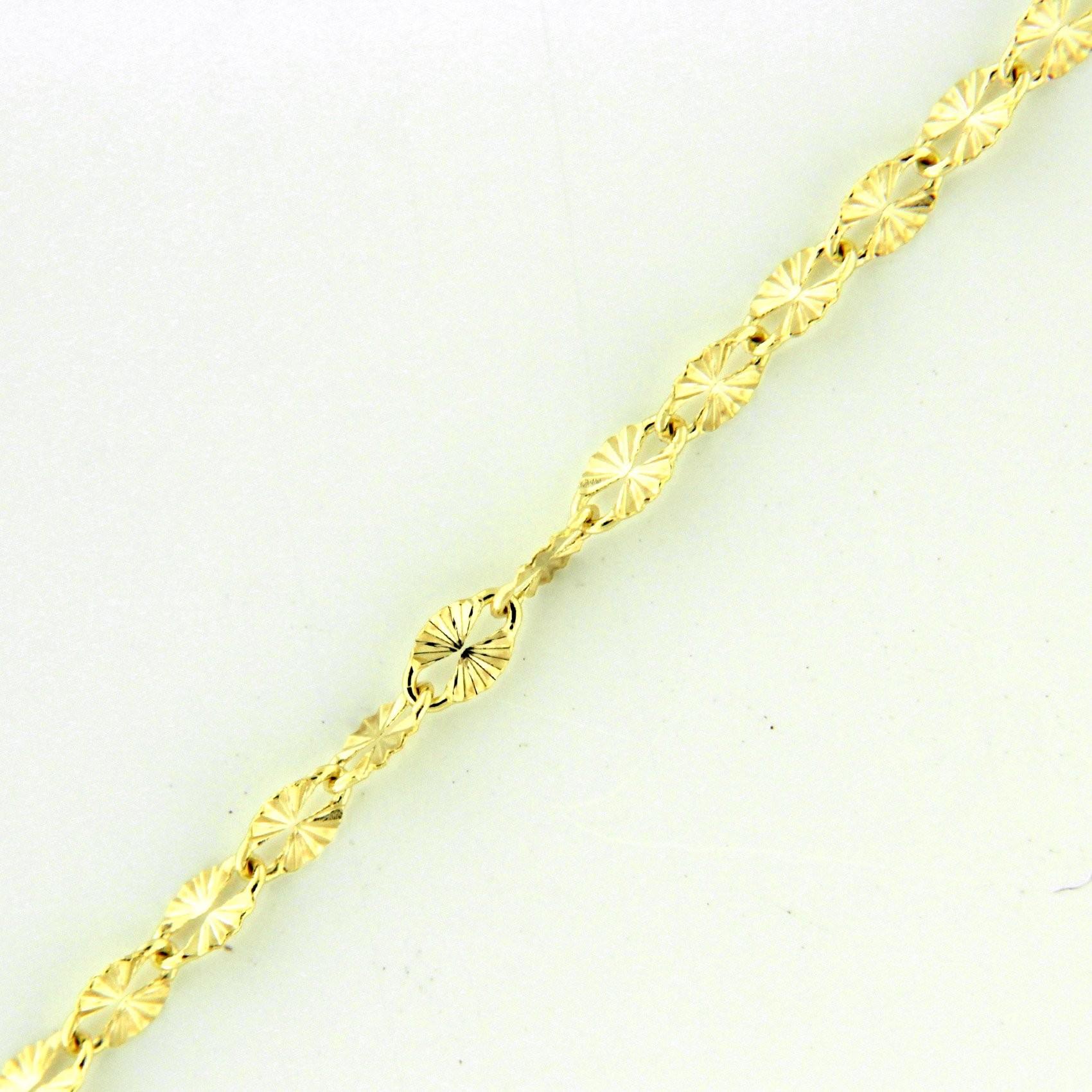 Zlatý řetízek 17305