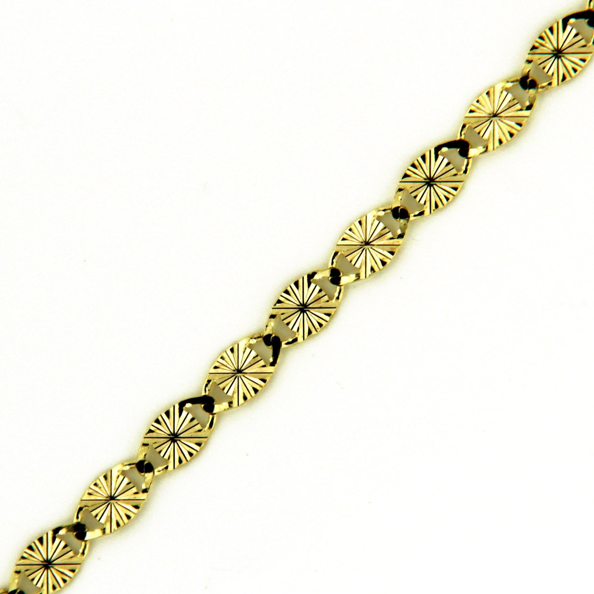 Zlatý řetízek 17308