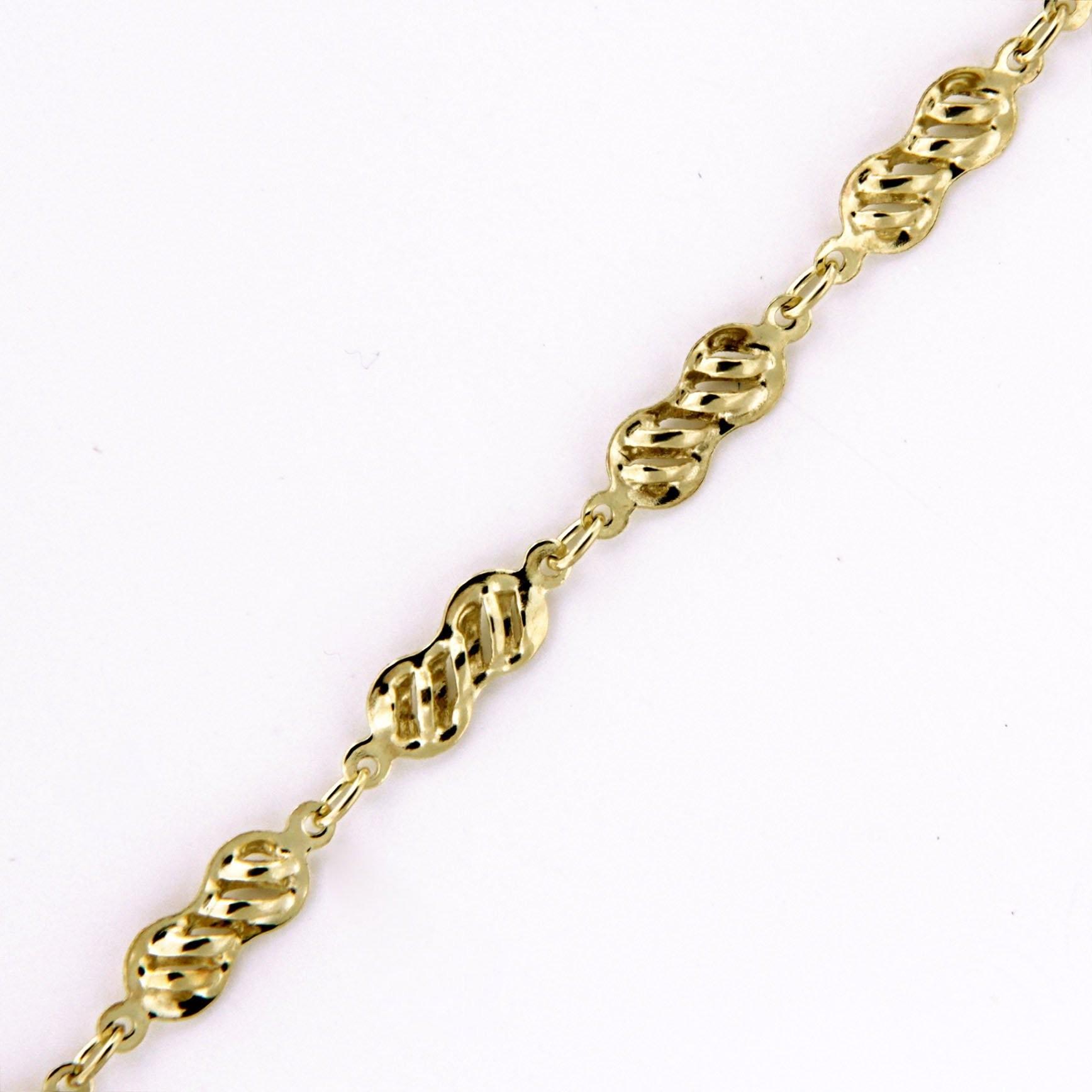 Zlatý řetízek 17329