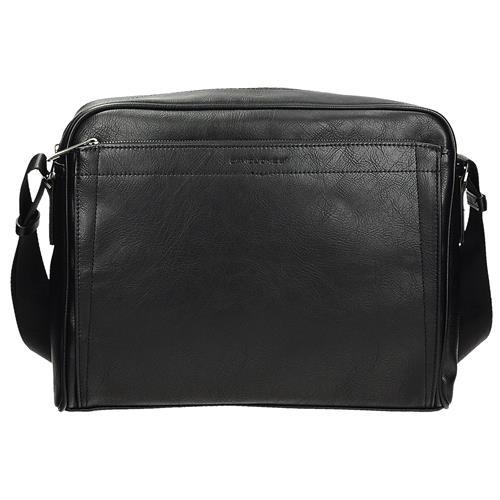 Černá pohodlná taška na notebook 8da00b72cd2