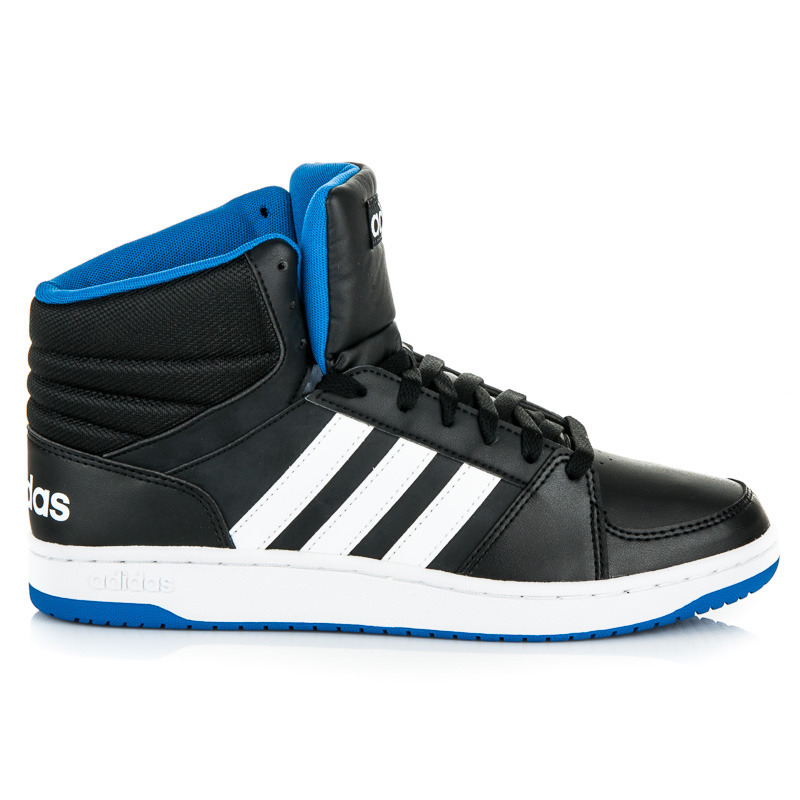 Černé pánské kotníkové tenisky Adidas  b878b0c4646