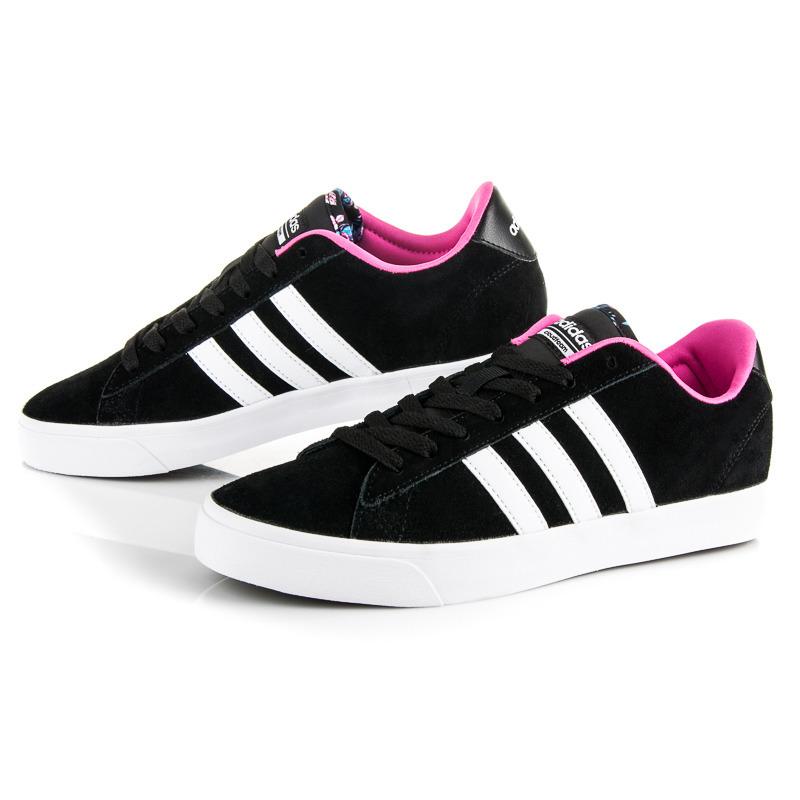 f9d78d8d4f6 Dámské černé sportovní tenisky Adidas Cloudfoam Daily QT