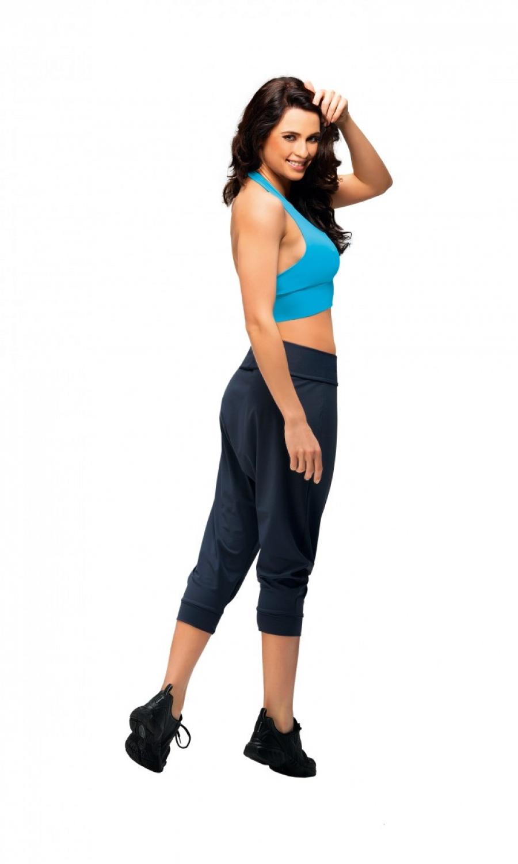 bbc90bedf67d Damske fitness kalhoty winner creola cerne levně