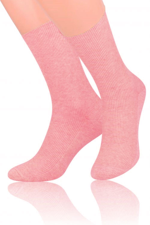 Dámské ponožky 018 pink