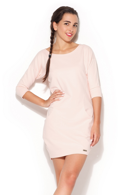 9f32c0b9efe4 Dámské šaty K181 pink růžová S