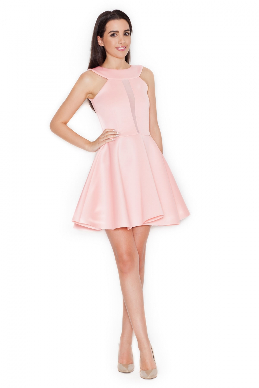 Damske saty k223 pink  264d5773cc