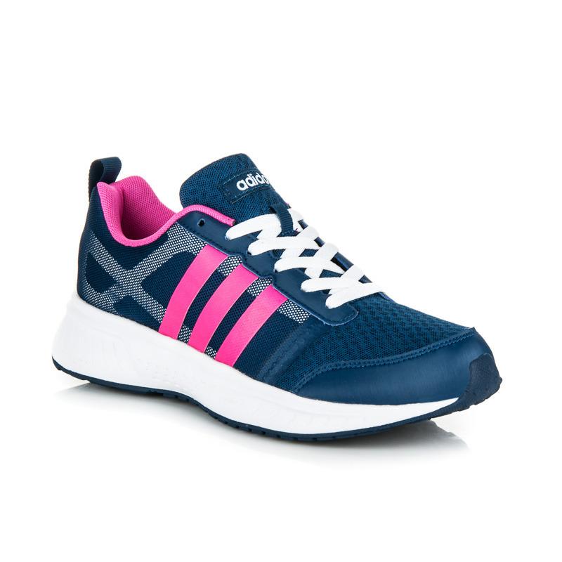 Dámské stylové modré sportovní tenisky Adidas  63d53642ed