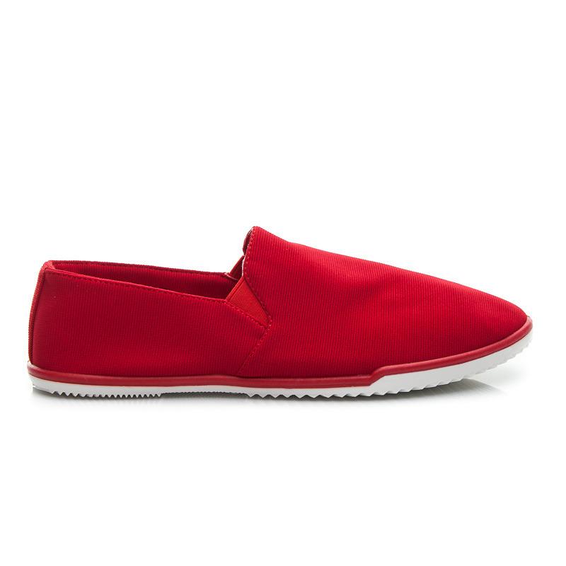 Jedinečné dámské tenisky - červené