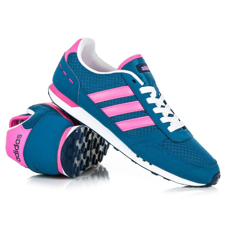 Jednoduché dámské modré sportovní tenisky Adidas  1e084d6ea3