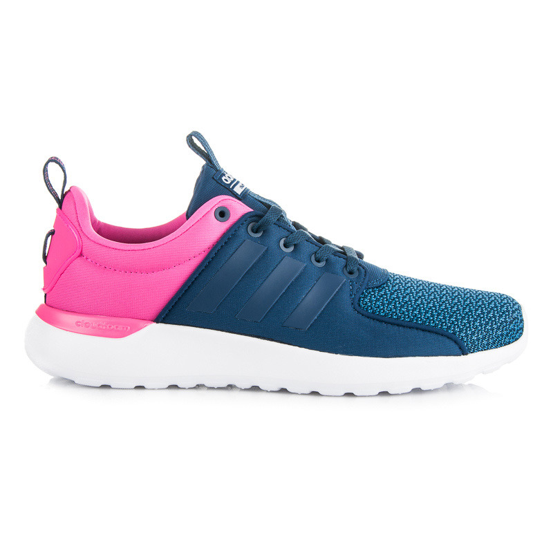 Jednoduché modro-ružové dámské sportovní tenisky Adidas  9651fe0f80
