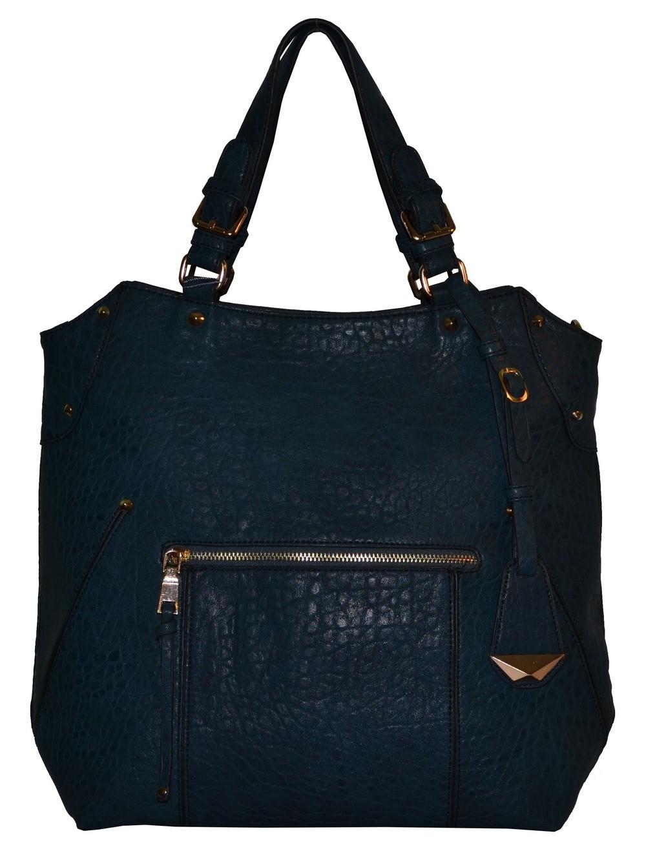 Jemná modro-zelená dámská kabelka