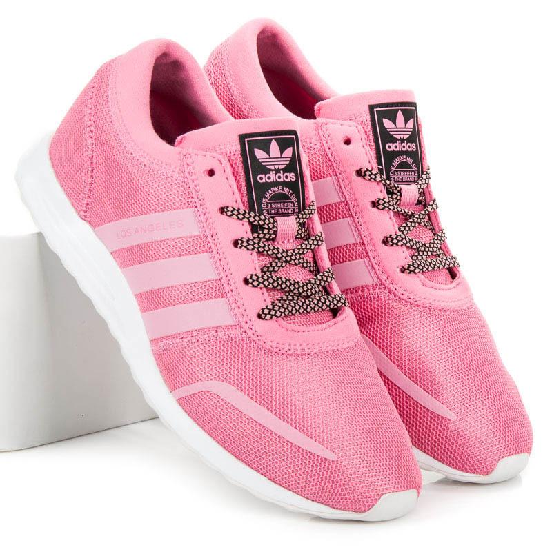 127943e80b Klasické růžové dámské tenisky Adidas