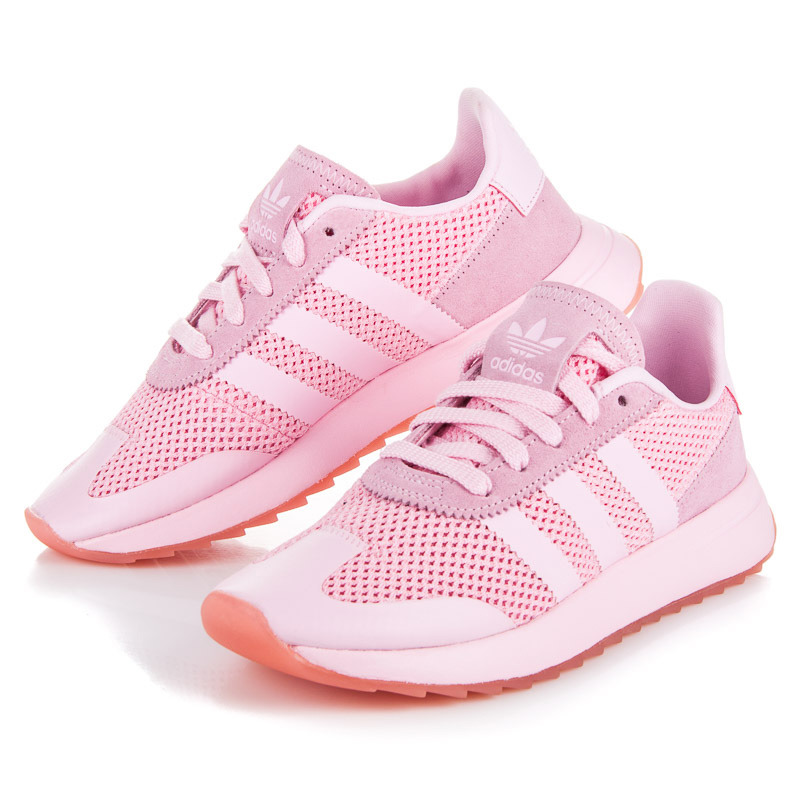 Klasické růžové dámské tenisky Adidas | AMIATEX.cz