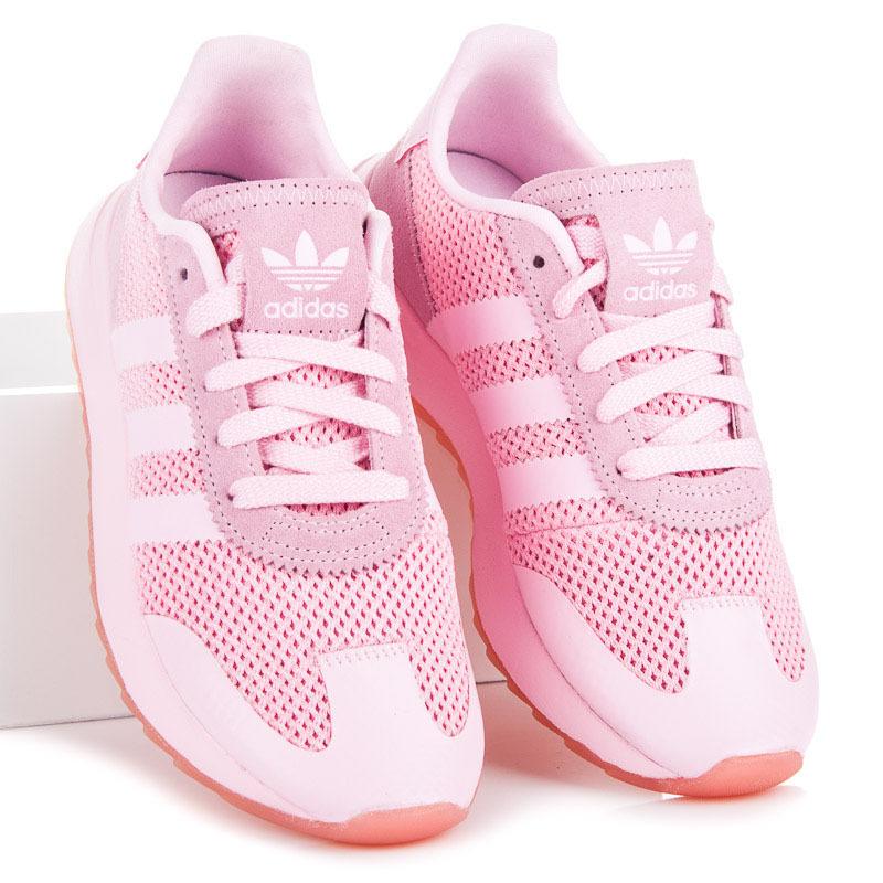 524201438c Klasické růžové dámské tenisky Adidas