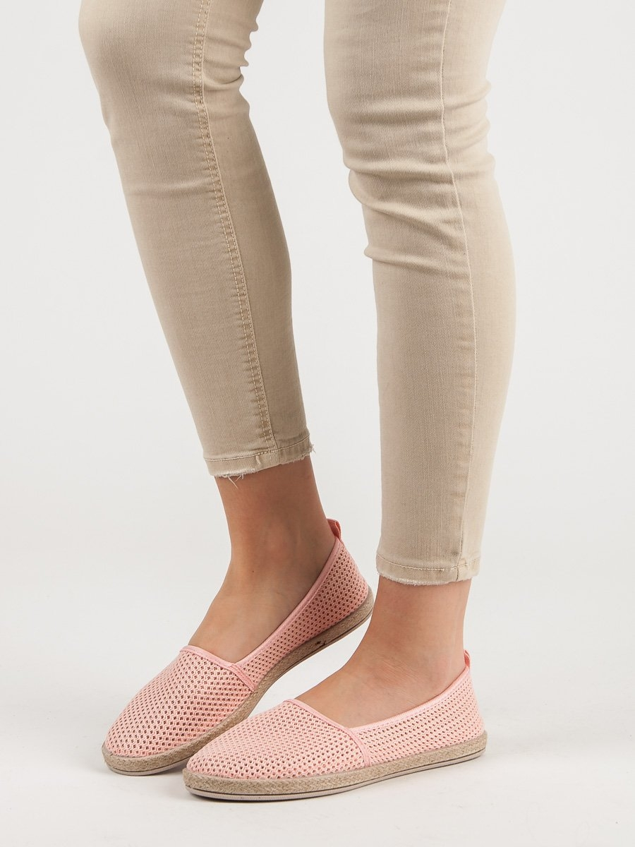 dbdee068b8a3 Luxusní růžové tenisky dámské bez podpatku