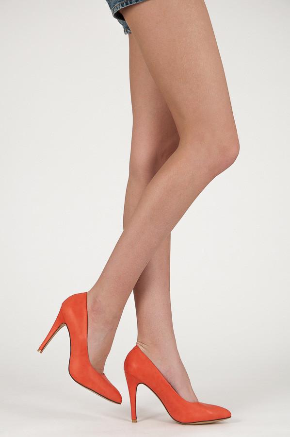 Nebeské oranžové dámské lodičky  c10d0ee628
