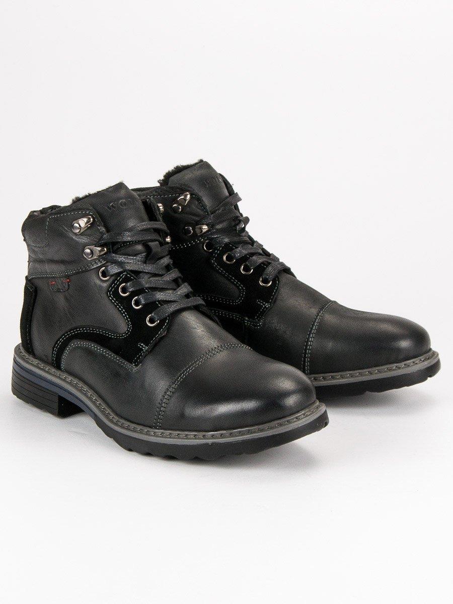 c380ef83d39 Pánské kotníkové boty MUSTANG