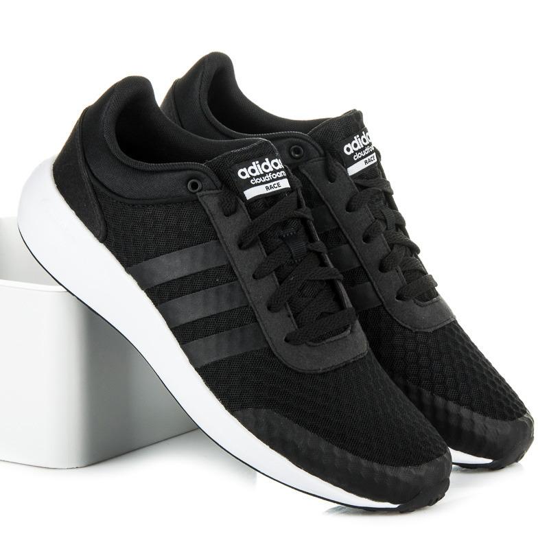 Pánské černé tenisky Adidas cloudfoam swift racer | AMIATEX.cz