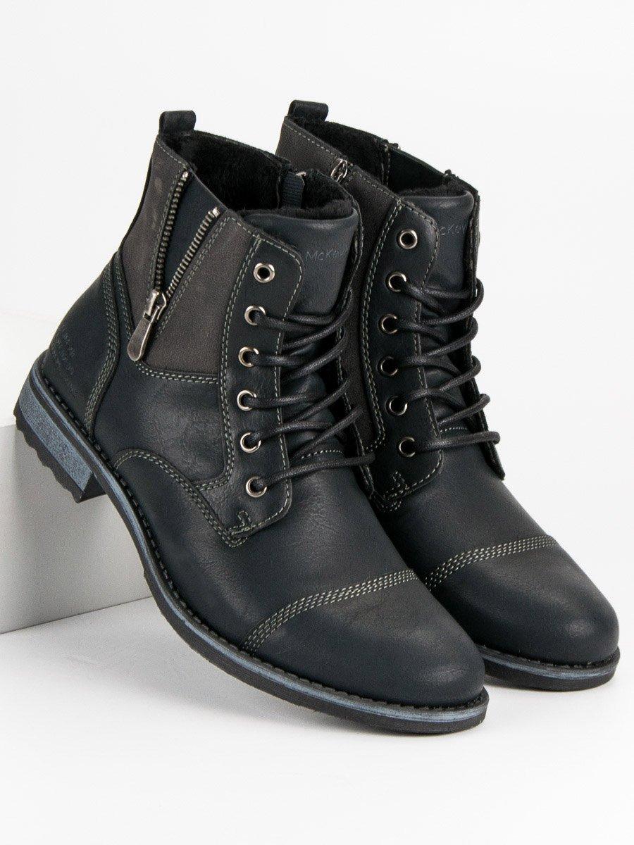 McKeylor Pánské kotníkové boty HAN19-14200B