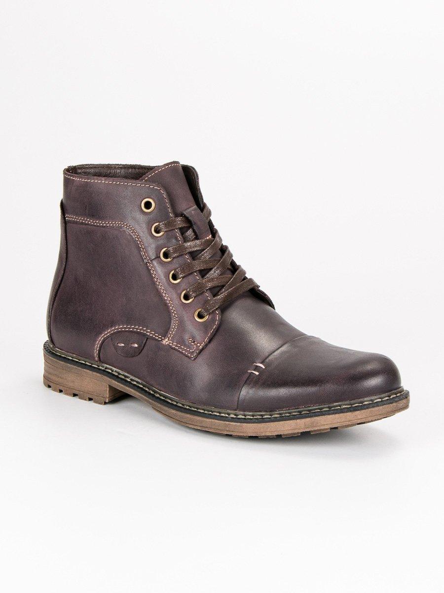 WOLSKI Pánské kotníkové boty SH19-1923BR