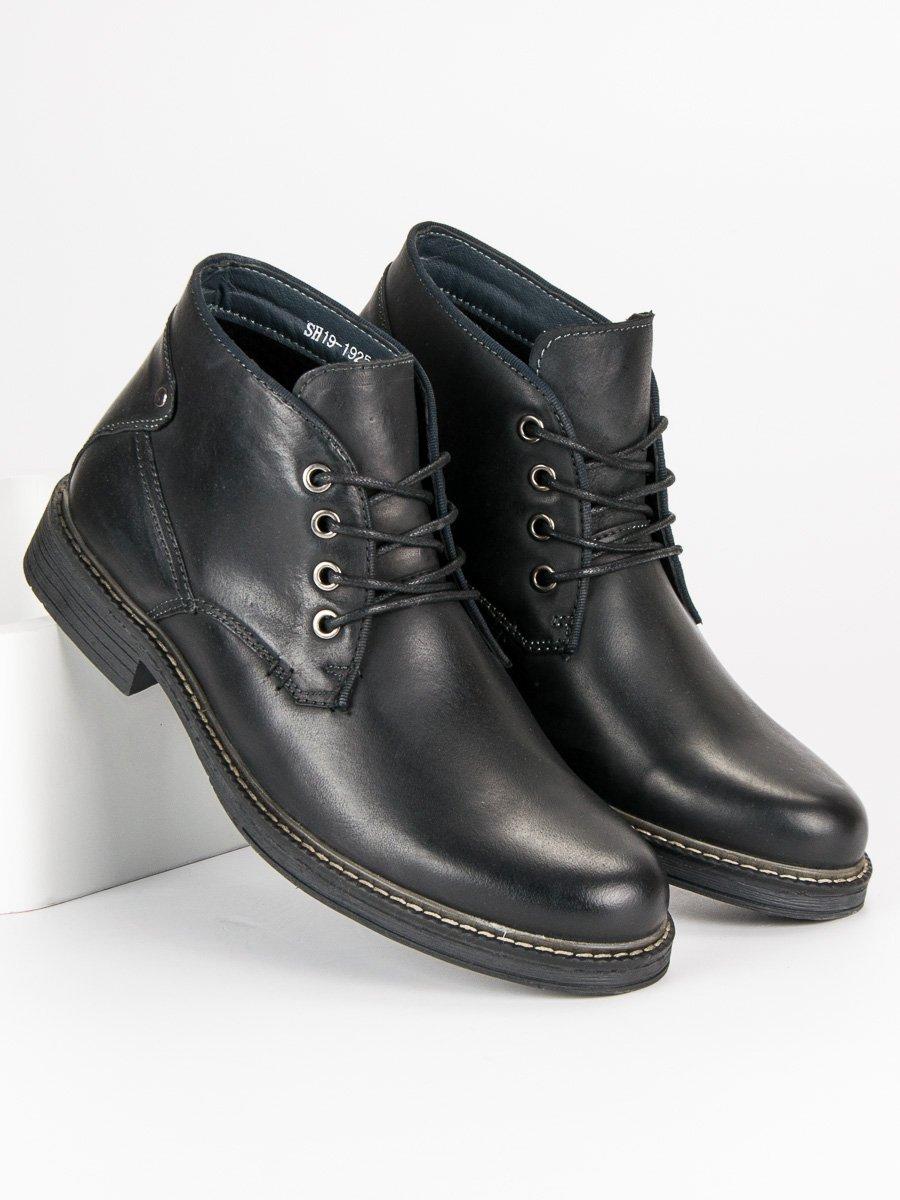 WOLSKI Pánské kotníkové boty SH19-1925B