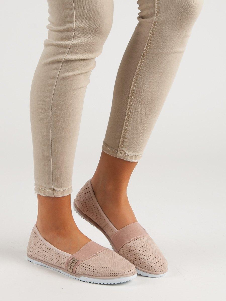 fe4d110ffa54 Pěkné tenisky růžové dámské bez podpatku