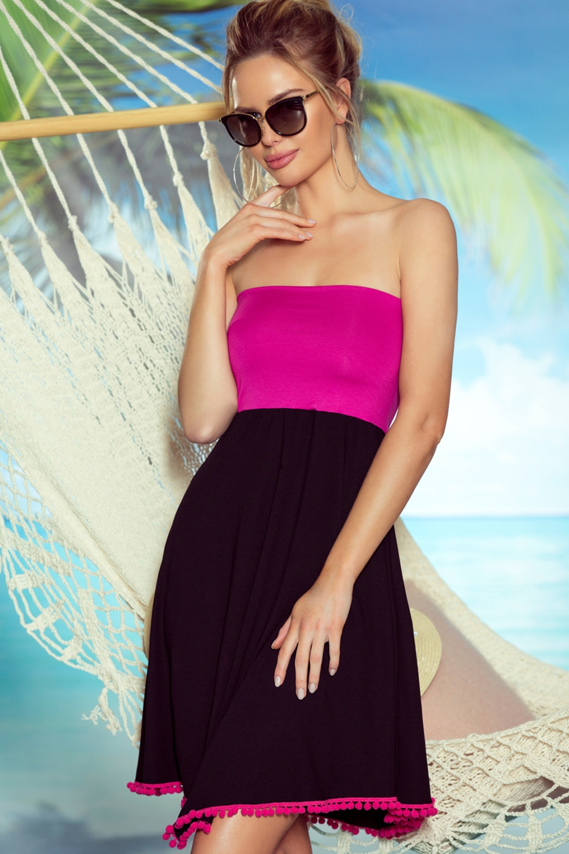 Plážová tunika Sandy pink