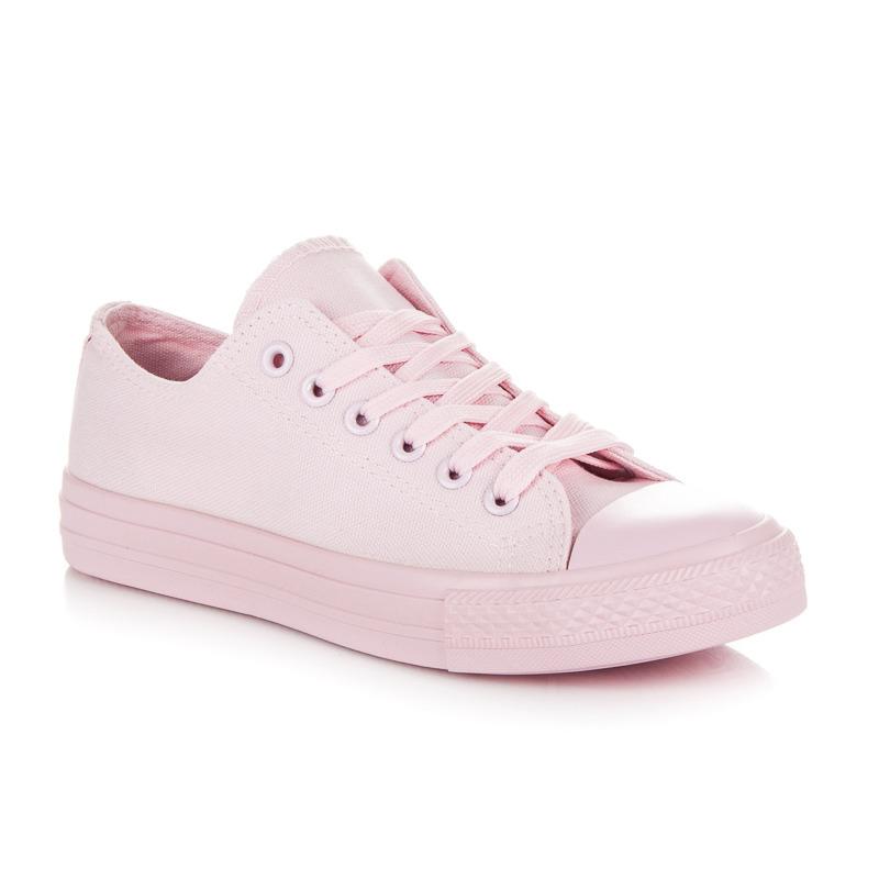 073987d0c3a Stylové a módní světle růžové dámské tenisky