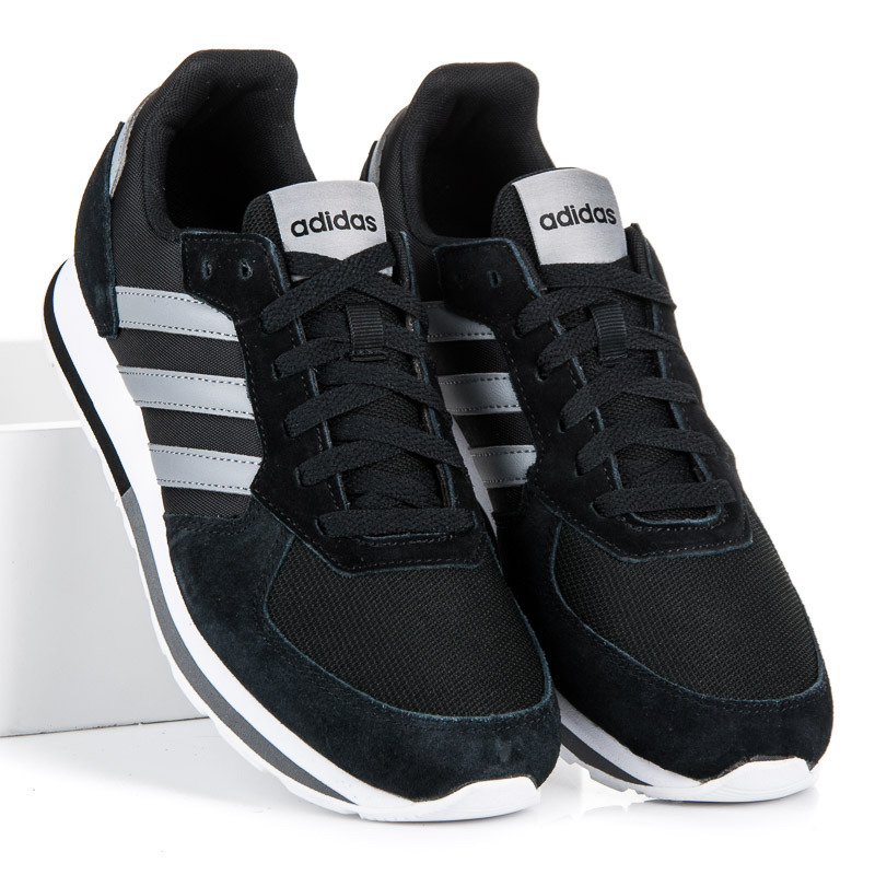 Stylové černo-šedé pánské tenisky Adidas  cc5029b846