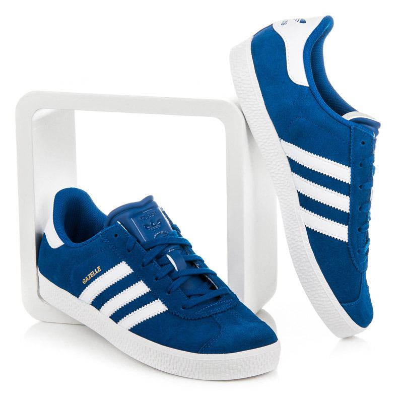 Štýlové dámske modré tenisky Adidas  e2a561c7cc9