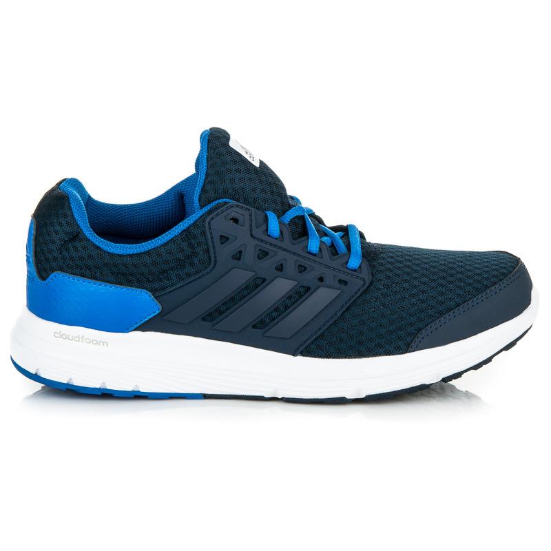 Stylové modré sportovní pánské tenisky Adidas  444e585ea0