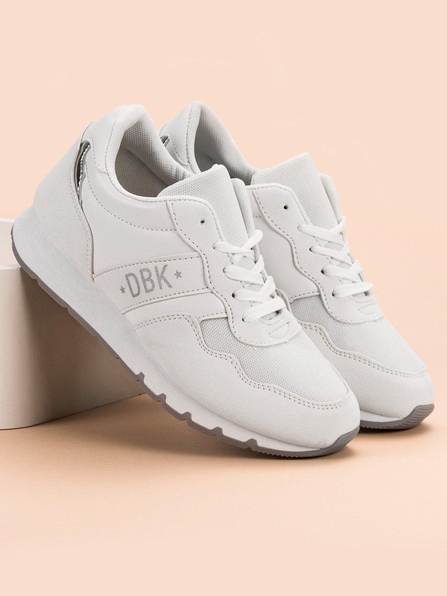02eb9299753e Trendy bílé tenisky dámské bez podpatku