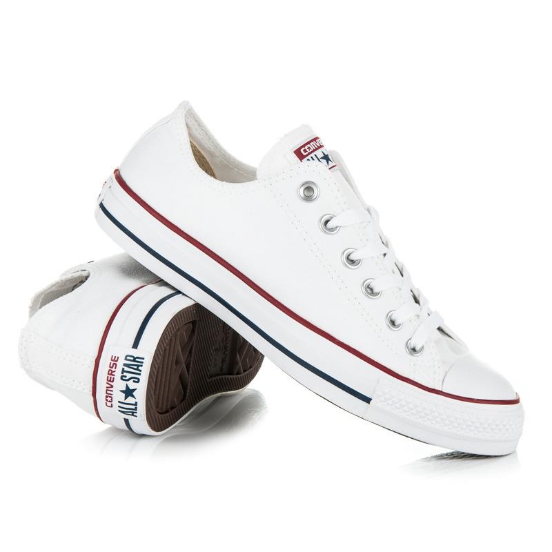 87ae8adf9c Velmi pohodlné bílé dámské tenisky Converse