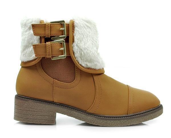 79fe588629 Zimní hnědé kotníčkové boty