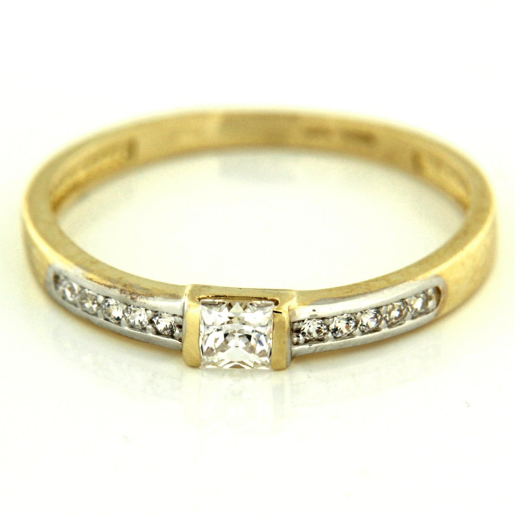 Zlatý prsten 13466