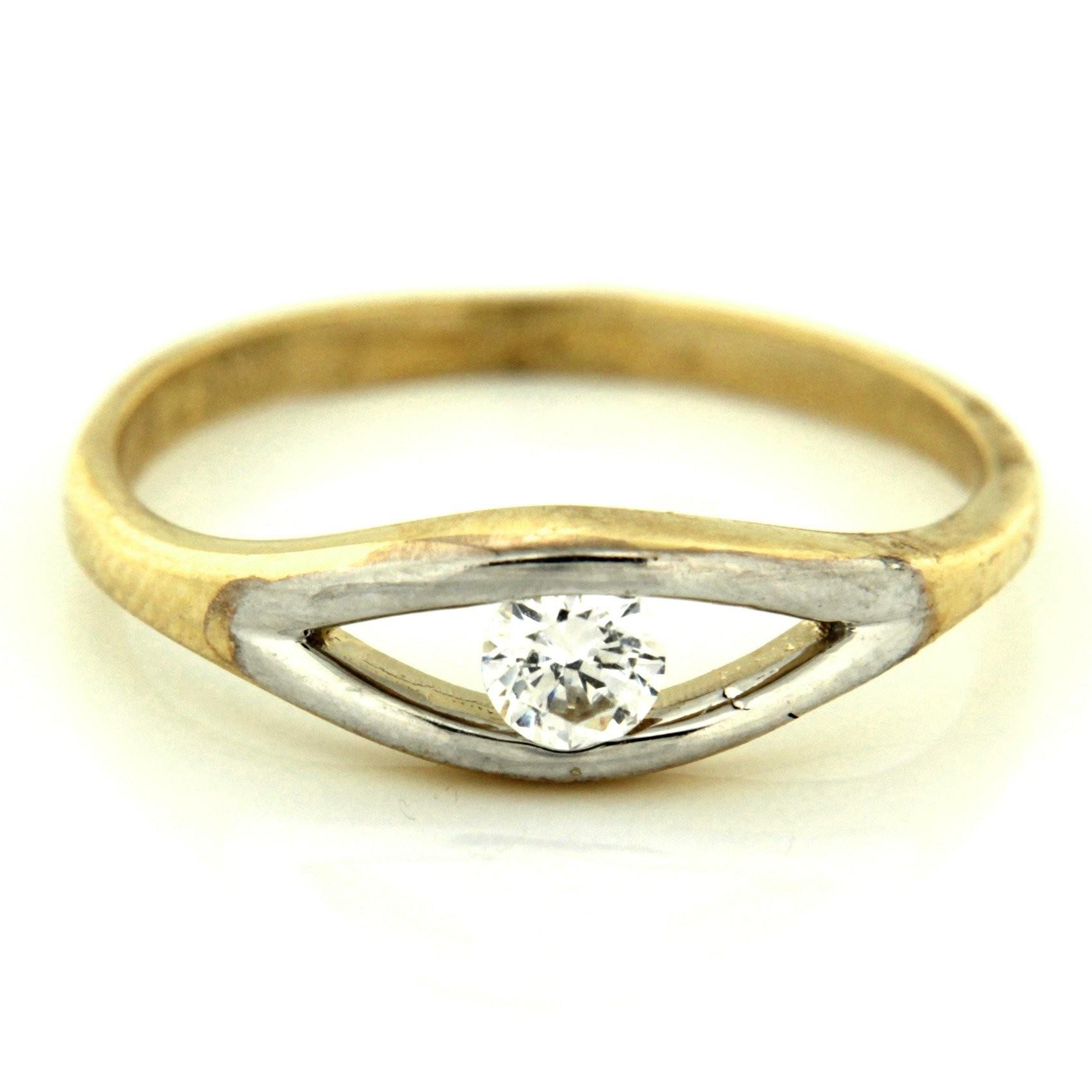 Zlatý prsten 13481