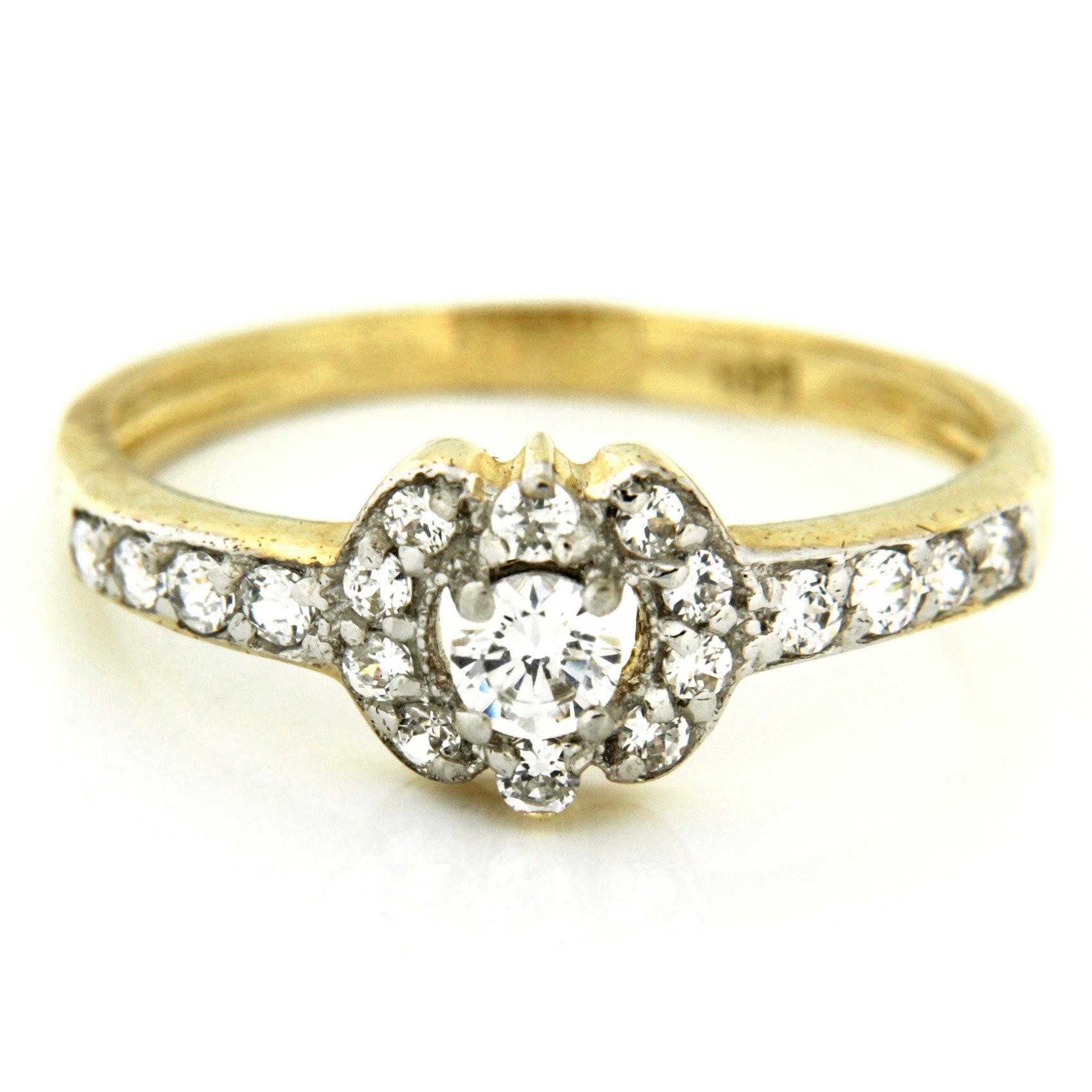 Zlatý prsten 13496