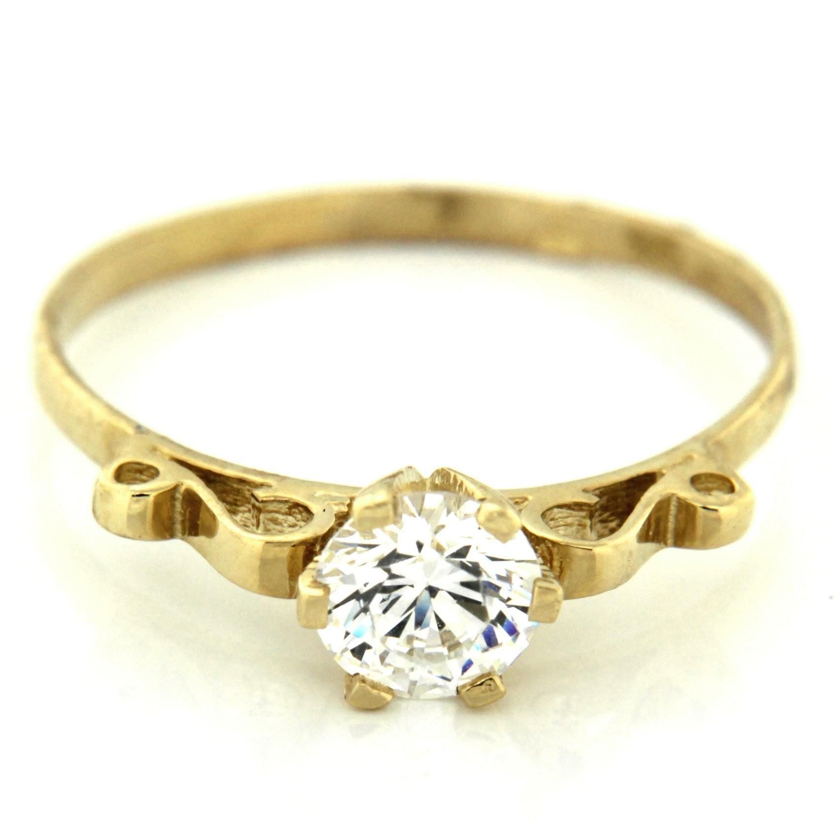Zlatý prsten 13498