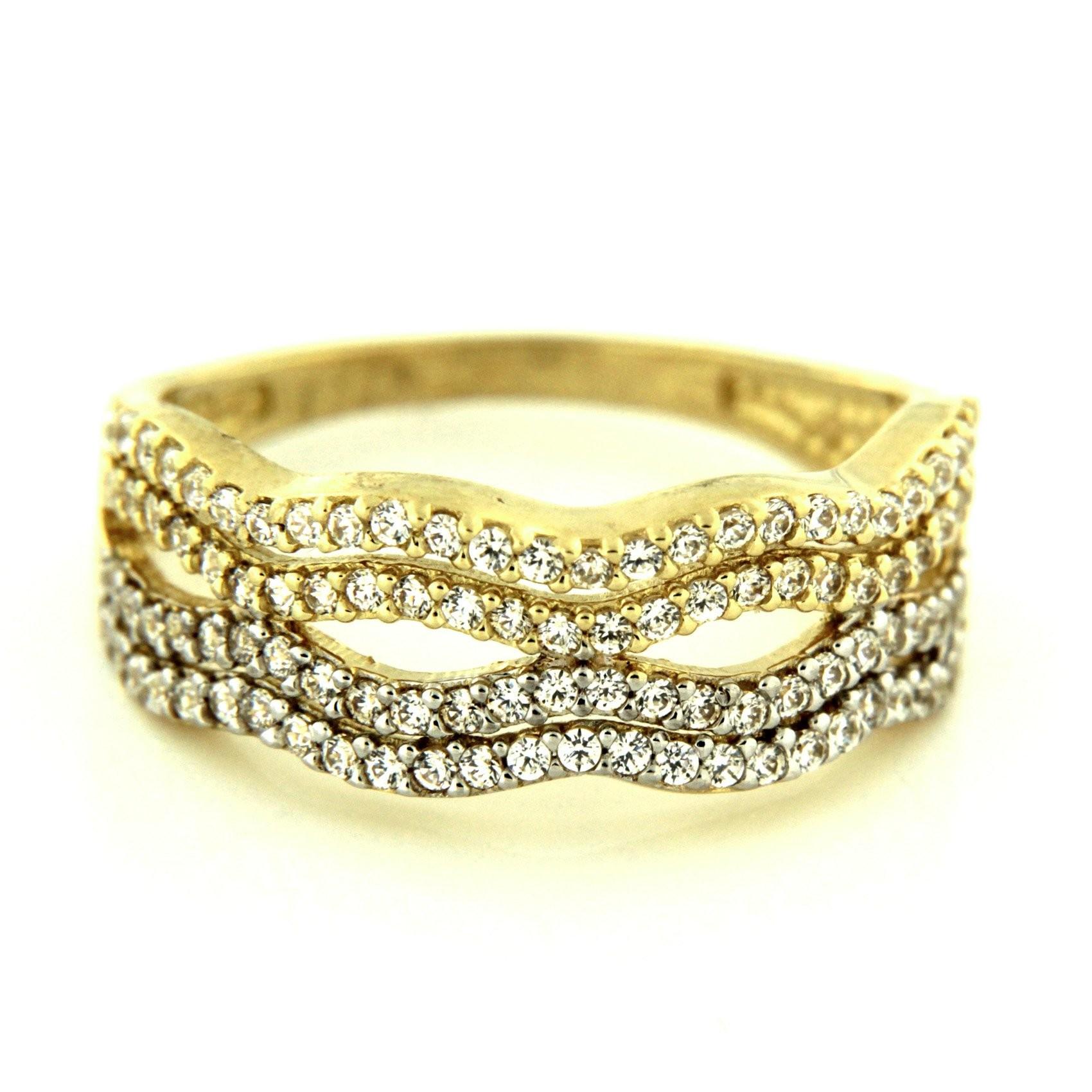 Zlatý prsten 13504