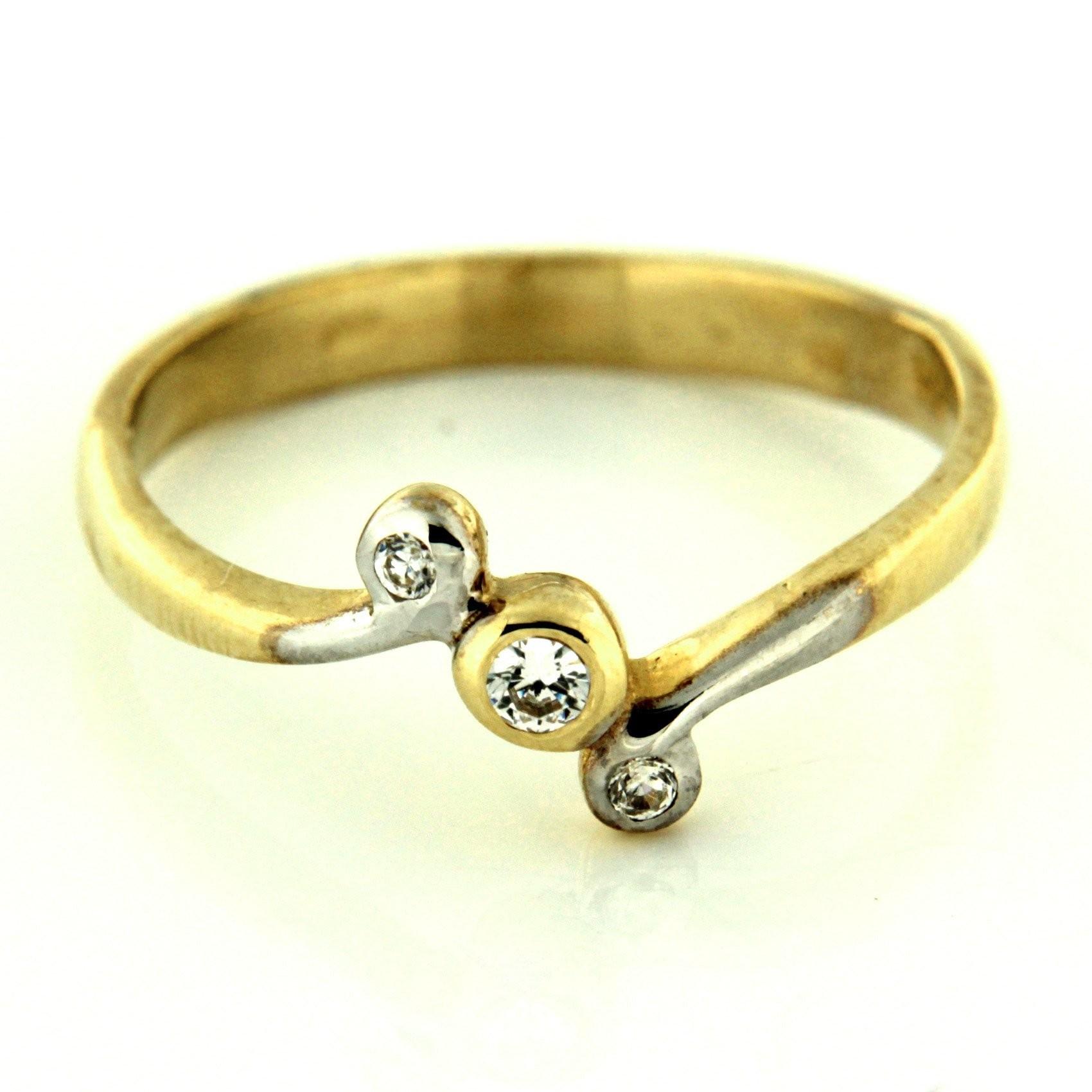 Zlatý prsten 13518
