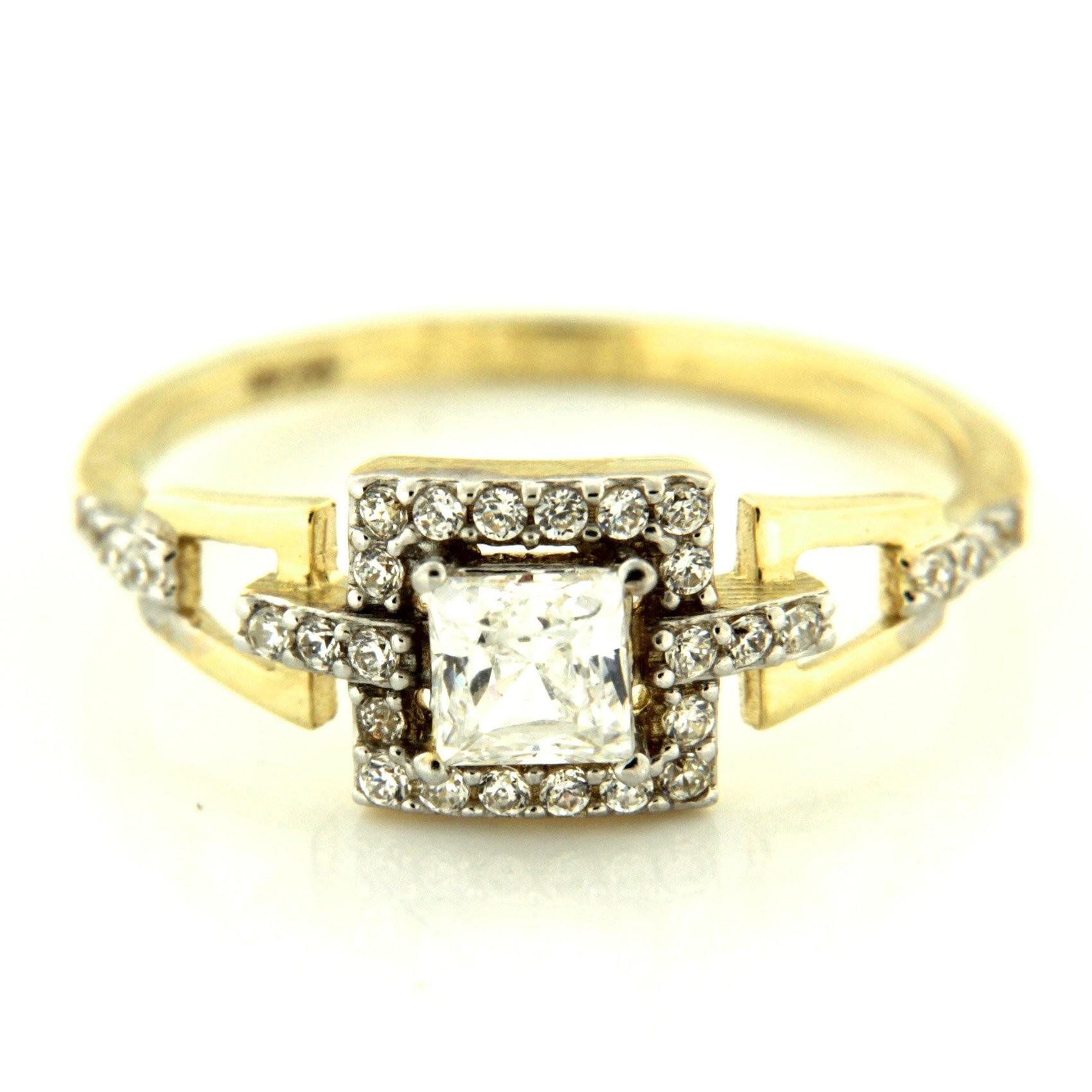 Zlatý prsten 14233